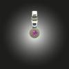 Silberanhänger Grundelement Zirkonia fancy purple