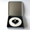 FORMschmuck-Silber Anhänger Herzform in Geschenkbox