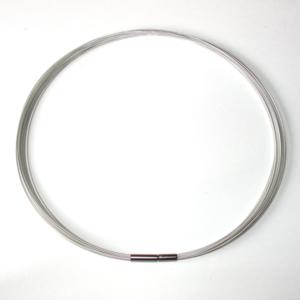 FORMschmuck-Kabel 26fach Farbe silber