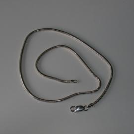 Schlangenkette Silber für Wechselschmuck