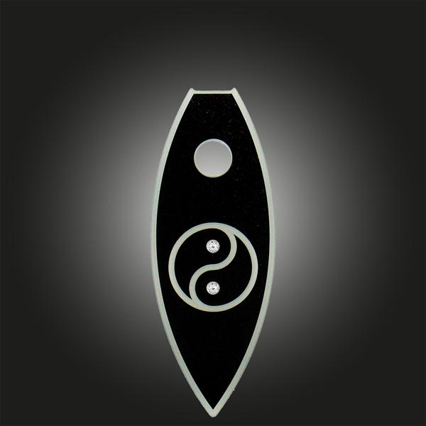 FORMschmuck-Variante groß Motiv Yin Yang