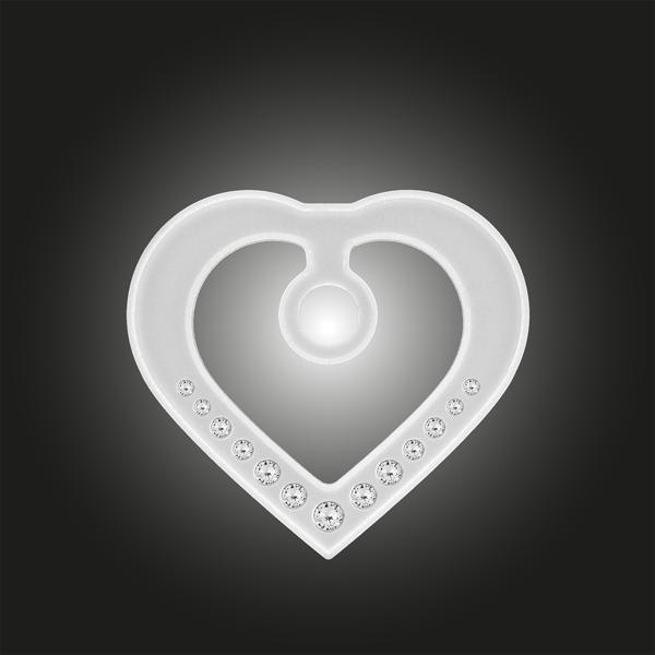 Variante Herzform weiss