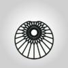 Variante Kreis rund Motiv Sonne