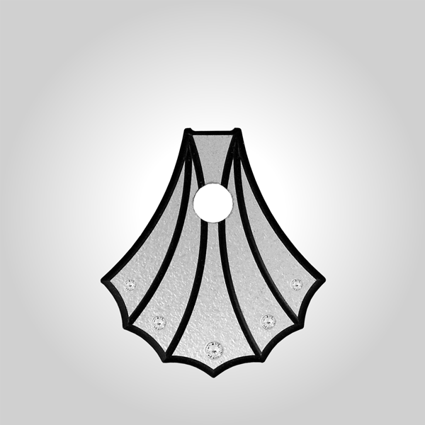 Variante Muschelform silber