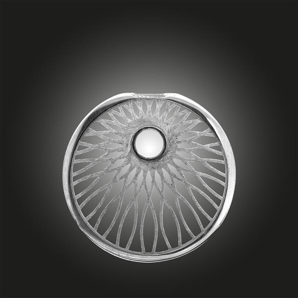 Formschmuck-Variante Sonne aus Silber