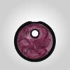 Variante Kreis Unikat schwarz pink