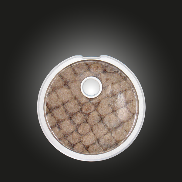 Variante Kreis Unikat Lachsleder