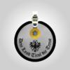 Formschmuck-Kette mit Silberanhänger Kreis Tiroler Adler Land Tirol