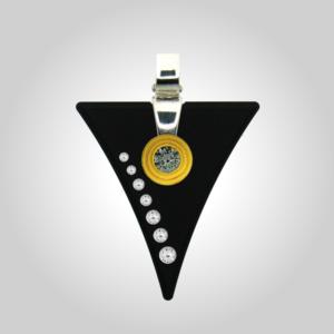 FORMschmuck-Silber Anhänger mit Zirkonia - die Startbox für Ihr Wechselschmuck-System aus der Goldschmiedewerkstatt
