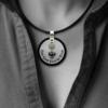 Formschmuck-Silber Anhänger rund Motiv Adler Land Tirol