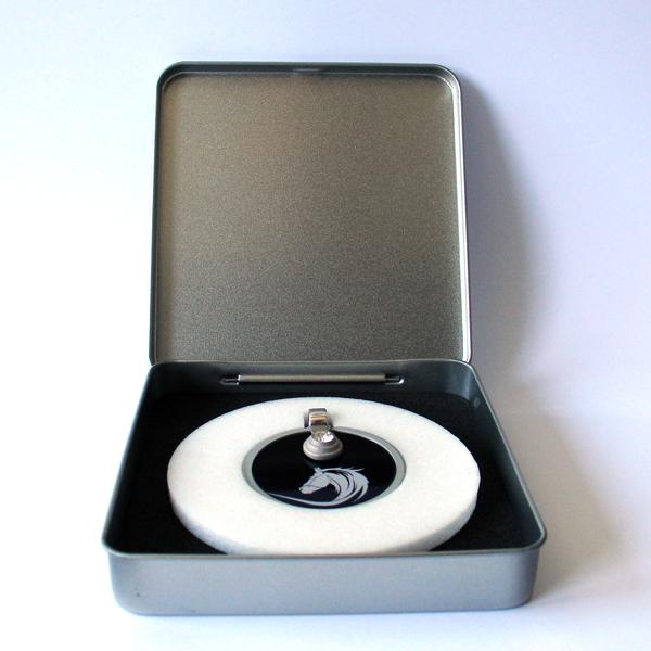 FORMschmuck-Silber Anhänger Damen Pferdekopf in Geschenkbox