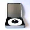 FORMschmuck-Silber Anhänger Kreis dream it in Geschenkbox