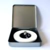 FORMschmuck-Silberanhänger Kreis mit Tierpfoten in Geschenkbox
