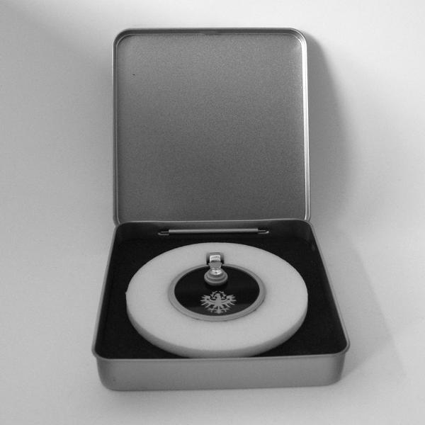 FORMschmuck-Silber Anhänger Tiroler Adler mit Geschenkbox