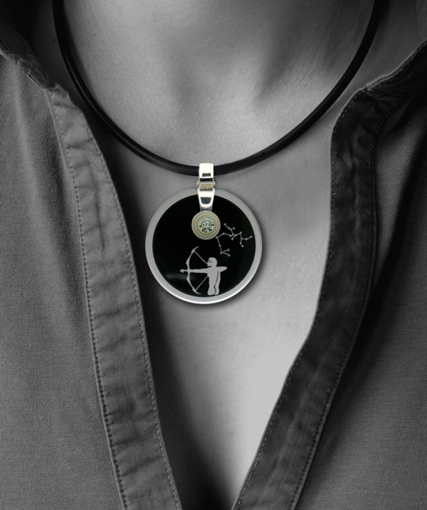 FORMschmuck-Silber Anhänger Damen Sternzeichen Schütze